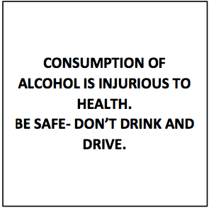 Alcohol Consumption Warning
