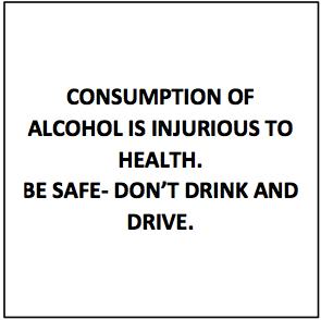 Alcohol Consumption Warning