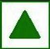 Green Sign For Vegans