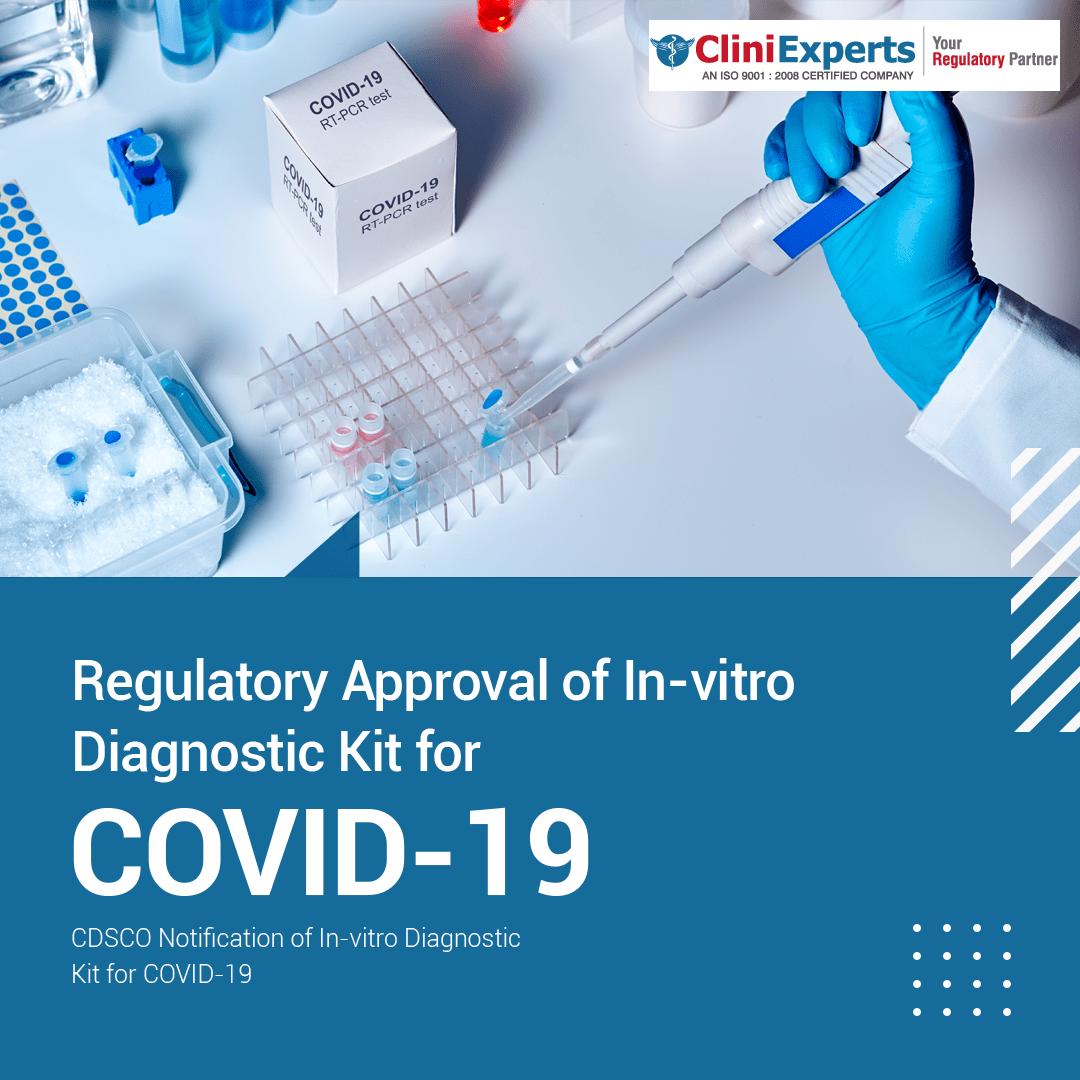 CDSCO prioritizes Regulatory Approval of In-vitro Diagnostic Kit for COVID-19