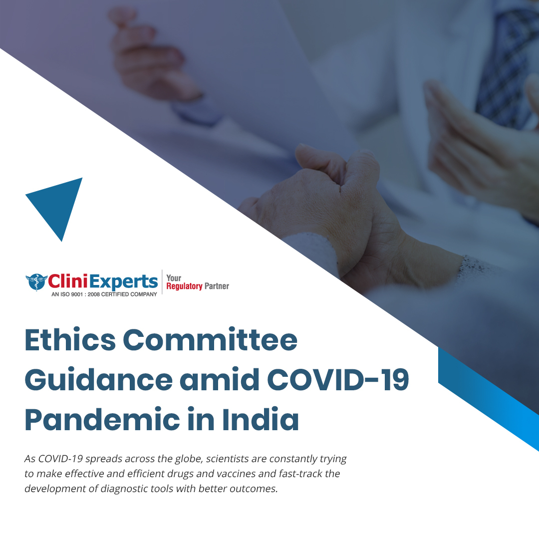 Ethics Committee Guidance amid COVID-19 Pandemic in India