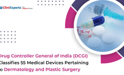 Drug Controller General of India (DCGI) classifies 55 medical devices pertaining to Dermatology and Plastic Surgery